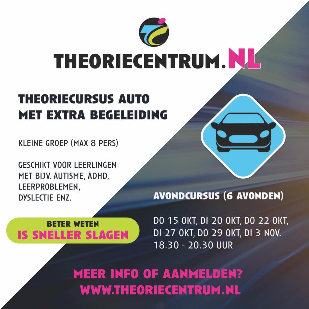 Theorie auto extra begeleiding