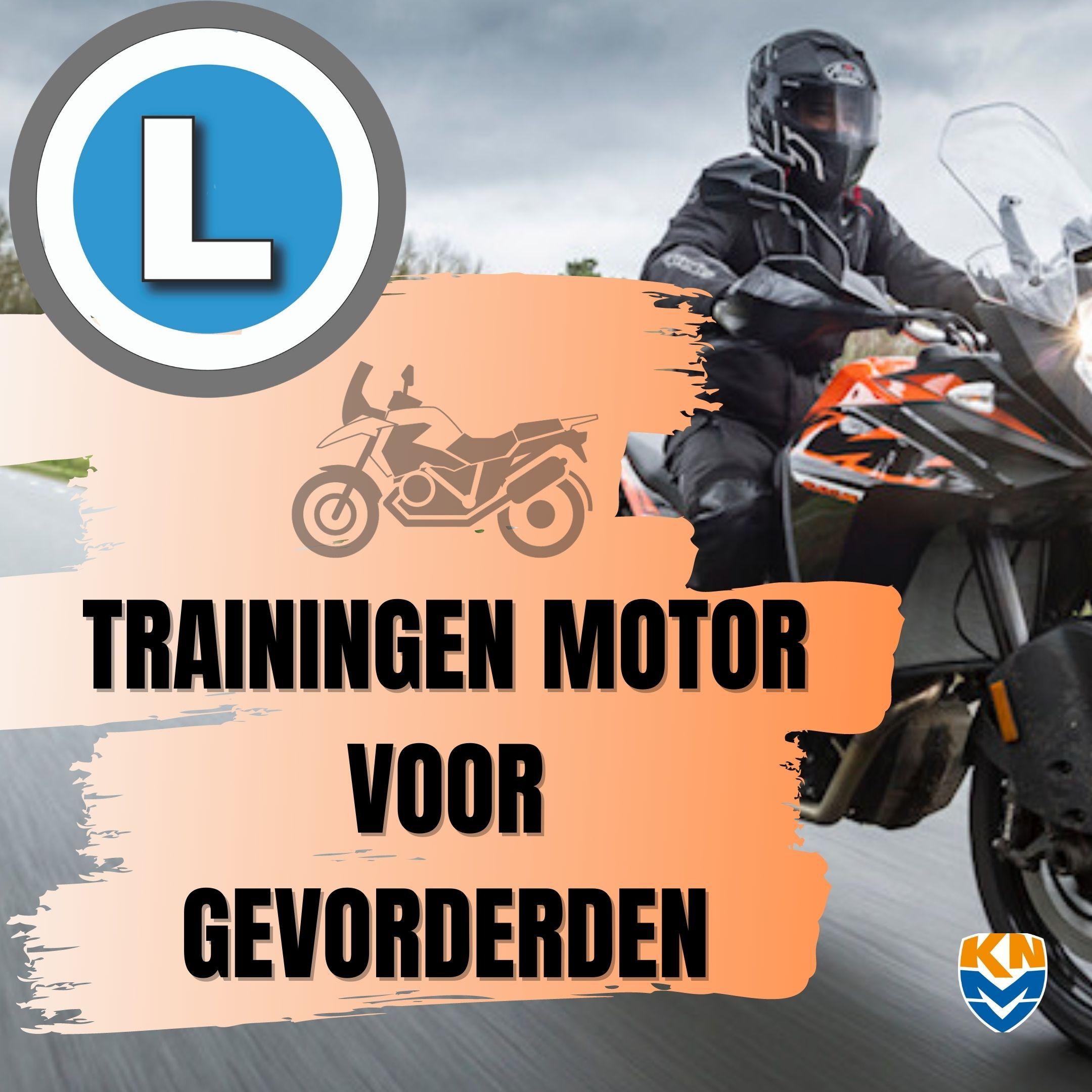 WEBSITE ICOON TRAINING MOTOR VOOR GEVORDERDEN