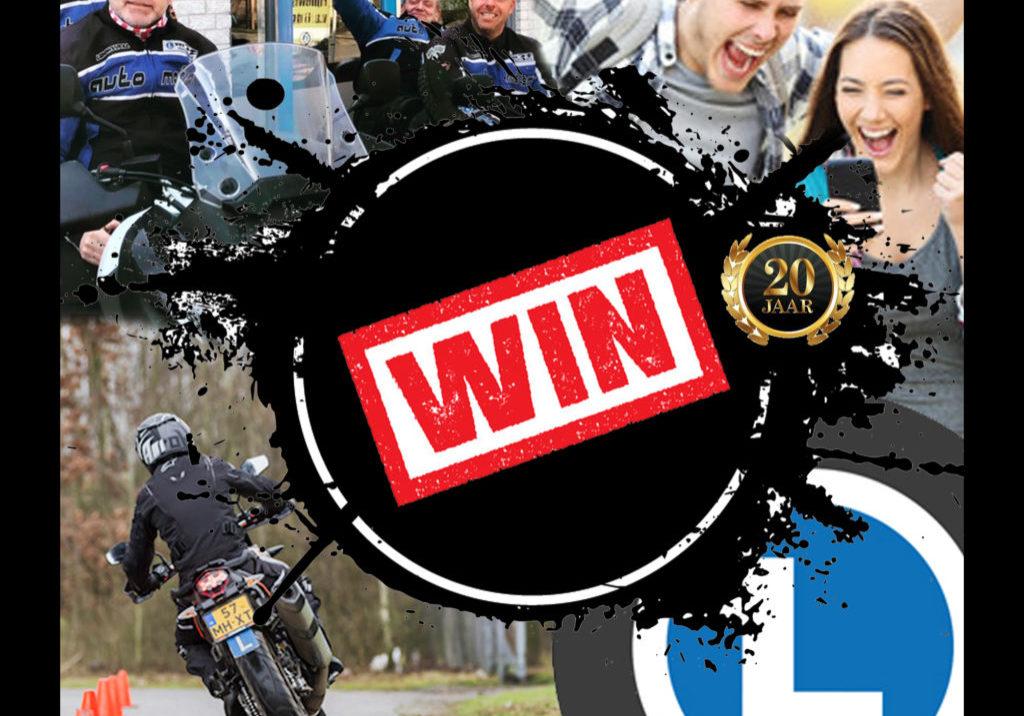 ACTIE MOTORPAKKET VERLOTING Win