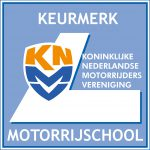 Logo Keurmerk Motorrijschool
